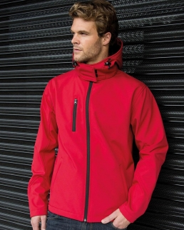 Softshell TX Performance con cappuccio