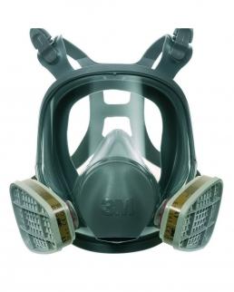 3M serie 6000 maschera a pieno facciale
