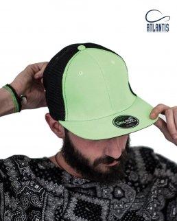 Cappellino Snap Mesh