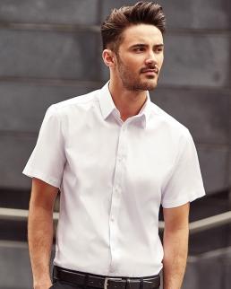 Camicia uomo Herringbone (lisca di pesce)