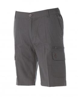 Pantalone corto multitasche 100% cotone