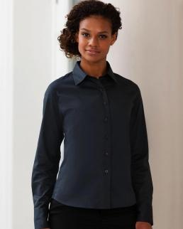 Camicia donna Twill Classic maniche lunghe