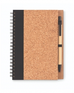 Notebook in sughero con penna