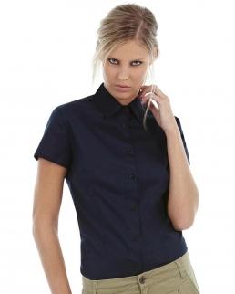Camicia donna maniche corte Sharp Twill