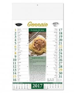 Calendario Mensile Ricettario