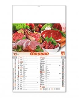 Calendario Carne Cruda