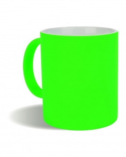 Tazza in ceramica colori fluo 320 ml