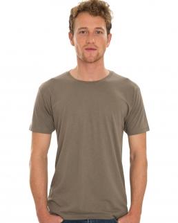 T-shirt uomo Viscosa-Cotone