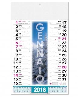Calendario Stagioni Trimensile 12 fogli