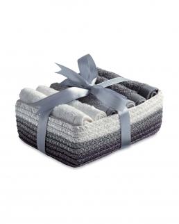 Set 6 asciugamani (30x30 cm)