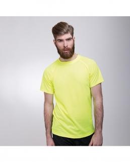 T-shirt adulto tessuto mesh adatta alla stampa sublimatica