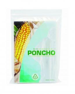 Poncho impermeabile biodegradabile e compostabile