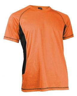 T-shirt girocollo Dry skin cuciture a contrasto