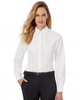 Camicia donna popeline maniche lunghe Smart