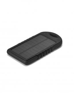 Batteria portatile con pannello solare e led 1800 mAh