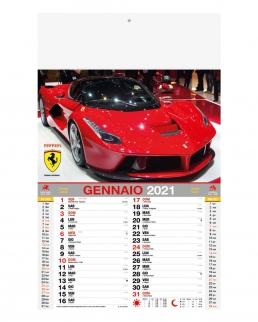 Calendario Auto Sportive 12 fogli