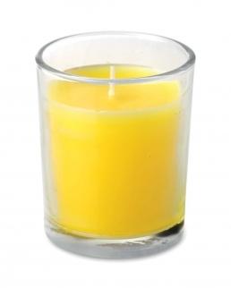 Candela alla citronella Glassy