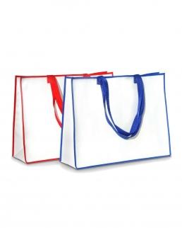 Shopper in tessuto di Polipropilene con manici in Nylon