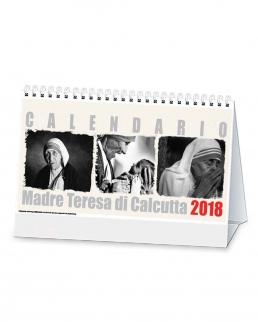 Calendario trimestrale da tavolo Madre Teresa di Calcutta