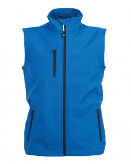 Gilet in soft shell a due strati impermeabile Tarvisio Boy