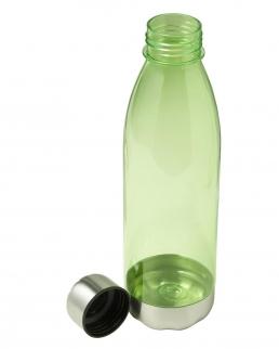 Borraccia 650 ml con base e tappo in acciaio inox