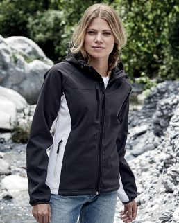 Softshell donna Hooded Lightweight Performance
