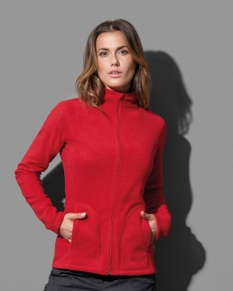 Giacca in pile donna Active