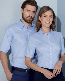 Camicia Shortsleeve Micro-Twill Donna