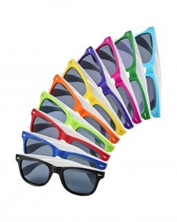 Occhiali da sole Sun Ray a blocchi di colore