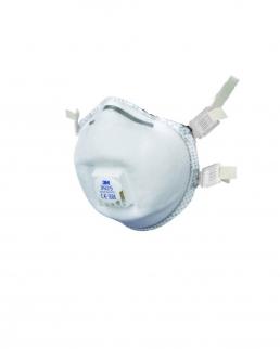 Maschera protettiva 3M 9925 con valvolaper fumi ed ozono / ffp2