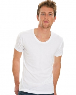 T-shirt uomo Scoop Neck