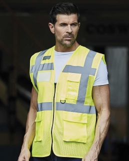 Gilet Hi-Vis Open Mesh Executive