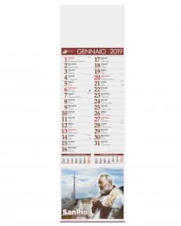 Calendario silhouette San Pio 12 fogli