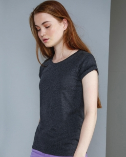 T-shirt donna Roll Sleeve