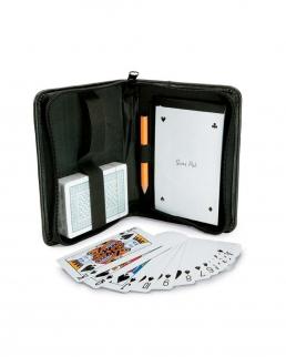 Set carte gioco con blocnotes