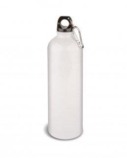Borraccia bianca in alluminio 750 ml