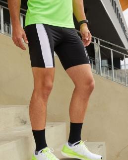 Pantaloncini aderenti da corsa da uomo