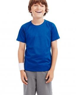 T-shirt Active 140 Raglan con girocollo per bambini