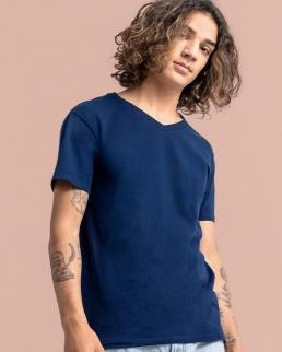 T-shirt uomo Iconic scollo a V