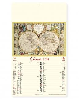 Calendario Antiche Mappe