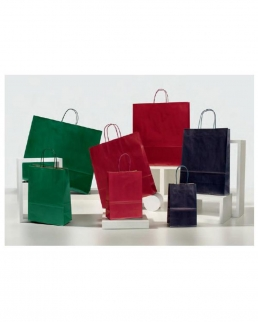 Shopper Colorati Sealing 18 Maniglia Ritorta