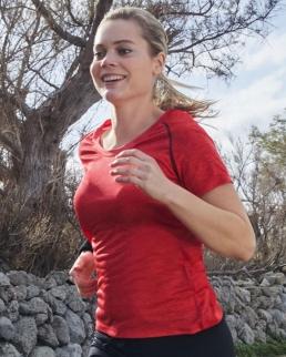 T-shirt donna per fitness e sport