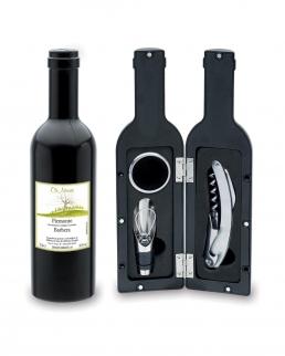 Set vino bottiglia