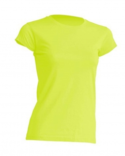 T-shirt regular lady colori Fluo JHK