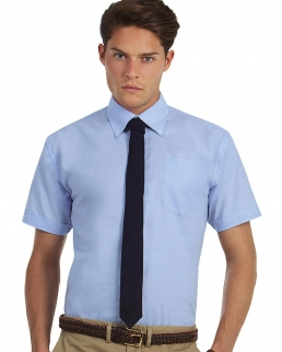 Camicia uomo maniche corte Oxford