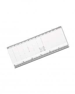 Righello in plastica 15 cm con rompicapo scorrevole