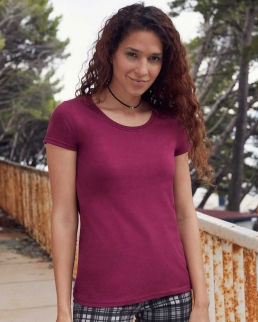 T-shirt Lady-Fit Premium Ringspun