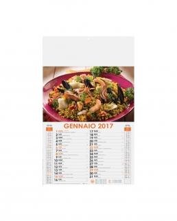 Calendario Gastronomia 12 fogli