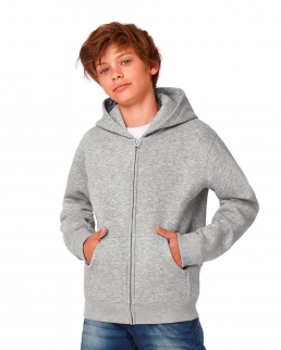 Felpa bambino Hooded Full Zip/kids Sweat
