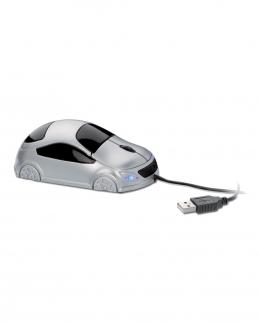 Mini mouse ottico USB a forma di automobile